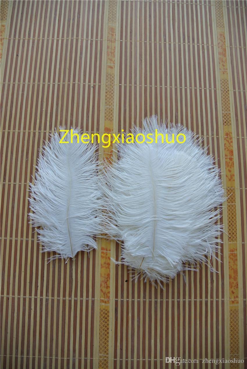 Gratis verzending, prefect natuurlijke struisvogel veer wit 5-8 inch bruiloft centerpieces bruiloft decoratie party supply decor