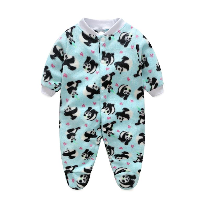 1de959201 Cartoon Animal Newborn Baby Rompers Spring Long Sleeve Baby Wear ...