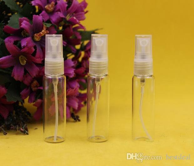 10ml Vakumlu cam şişeler Dolum bottes vakum şişeleri Sprey şişesi / Çevre koruma küçük sprey parfüm şişesi 10ml Ev Kokuları