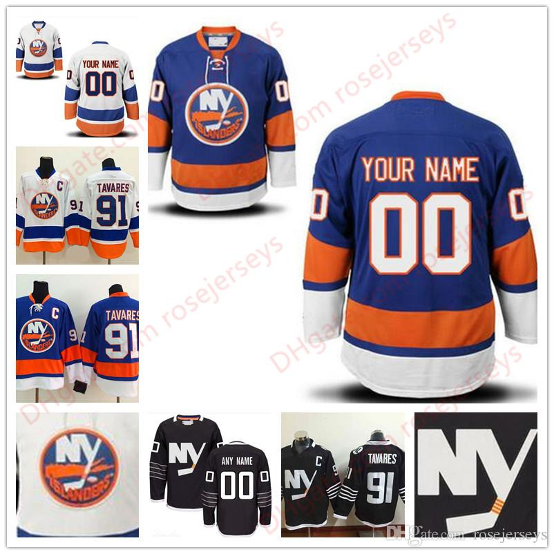 e313837dc 2019 Stitched Custom New York Islanders Mens Womens Youth Kids OLD BRAND  Customized White Blue Black Personalized Ice Hockey Cheap Jerseys S 4XL From  ...