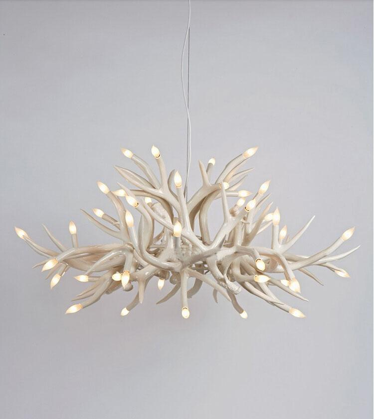 Roll Hill Agnes Pendant Lamp Italy Antler Pendant Light Cavel