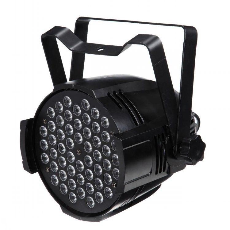 Freies verschiffen 54X3 Watt gussaluminium High power LED Bühnenbeleuchtung RGB 3in1 Tri LED Par Kann Par Lichter