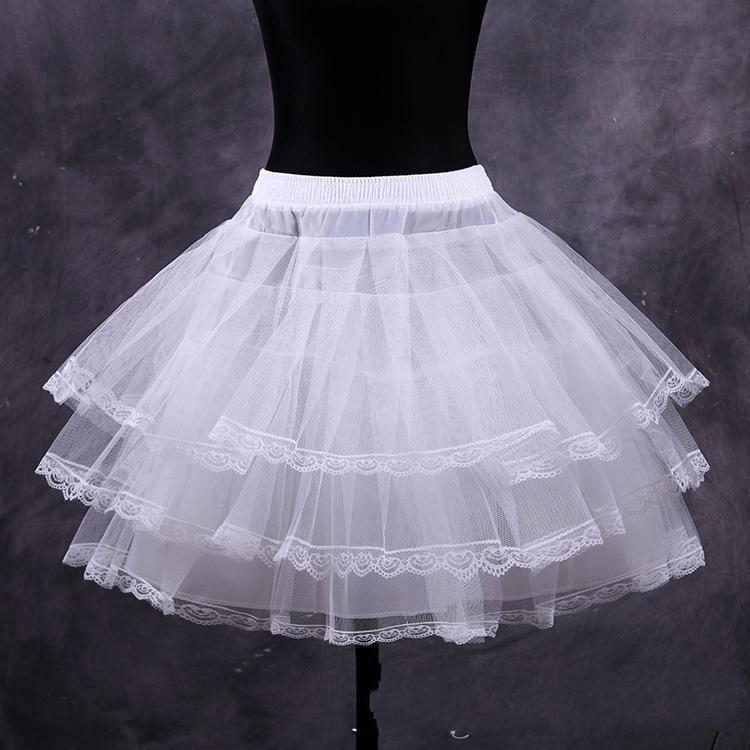 2015 Ücretsiz Kargo Gelin Petticoat Sıcak Satış Gelin Aksesuarları Üç Hoop Yüksek Kalite Balo Moda Kemik Jüpon Yeni Varış