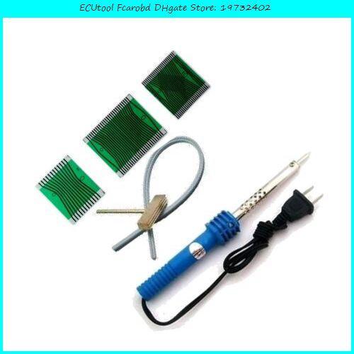 Fcarobd Acartool cavo in gomma benz W210 W202 W208 tachimetro pixel mancata correzione connettore LCD Cavo di saldatura saldatura di ferro T-tip