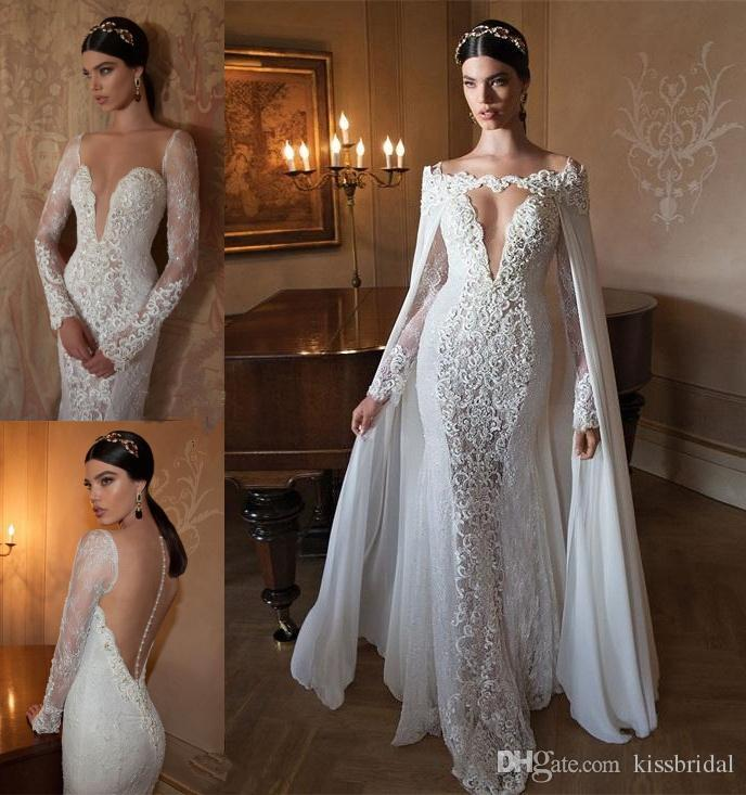 Discount 2015 Fascinating Ivory Lace Wedding Dresses Deep V Neck ...