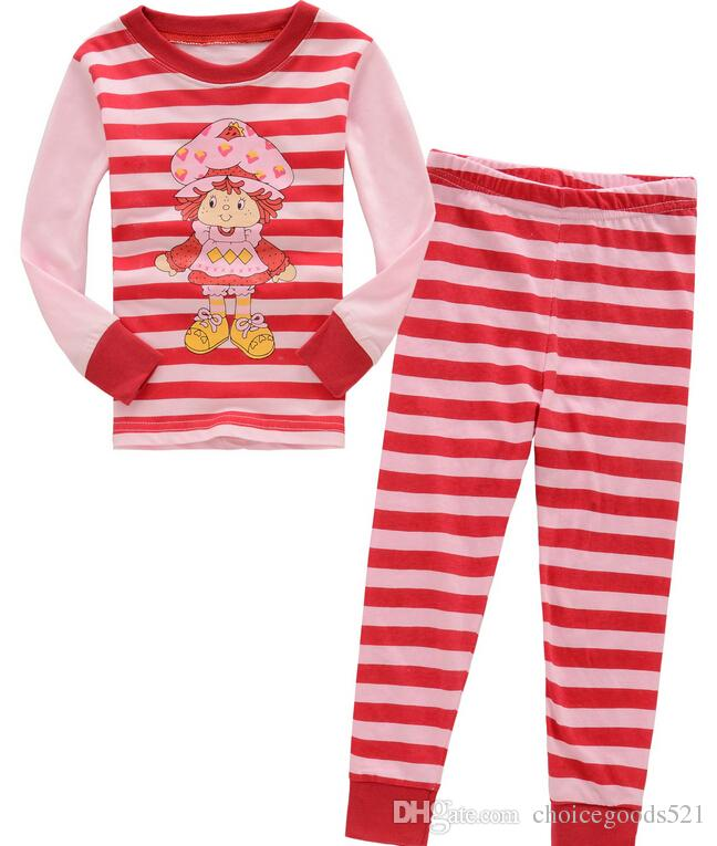 ec4ce5177 New Pyjamas Boy Girl Kids Long Sleeve Pajama Set Baby Pajamas ...