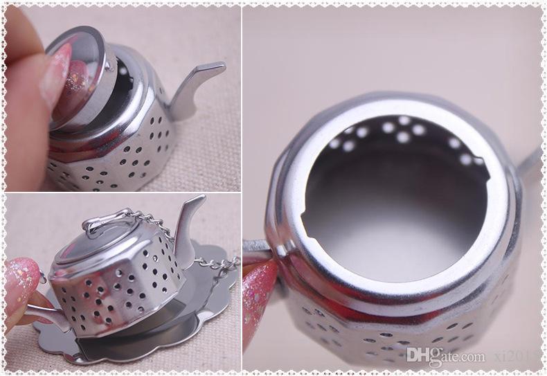 Presente favor do casamento e brindes para o convidado - chá para dois bule de chá infusor favores lembrança do partido 100 pçs / lote