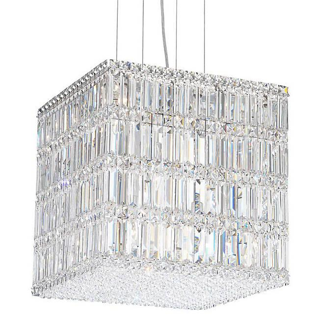 Modern Crystal Chandeliers Quantum Blocks Square Pendant