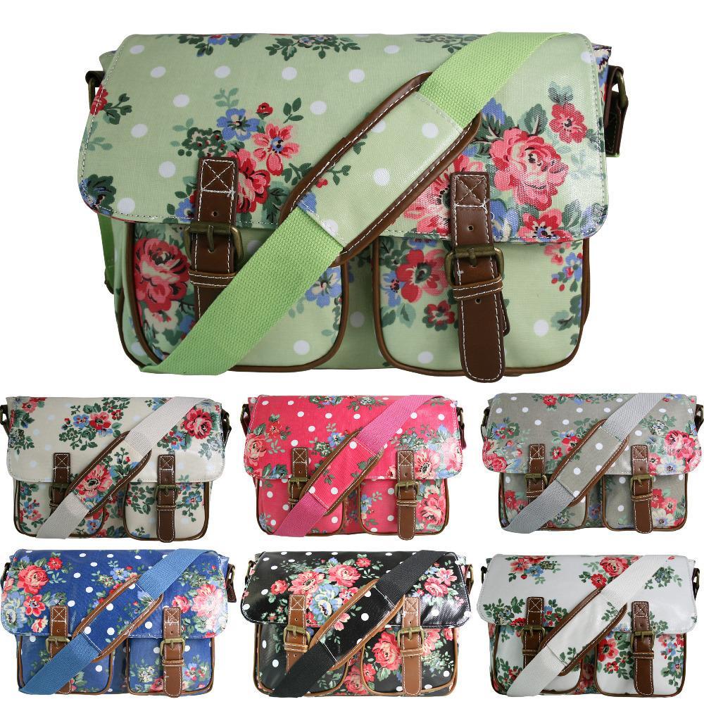 Wholesale Miss Lulu Women Girls Flower Floral Oilcloth Large School Pe Sports College Work ...