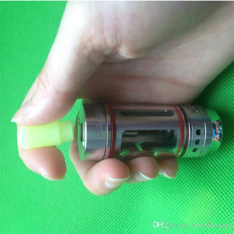 Pieza de silicona cubierta de la boca Punta de goteo de silicona desechable Punta de prueba de goma colorida Cap Atlantis Tanque mini subtanque más Subtank Mini