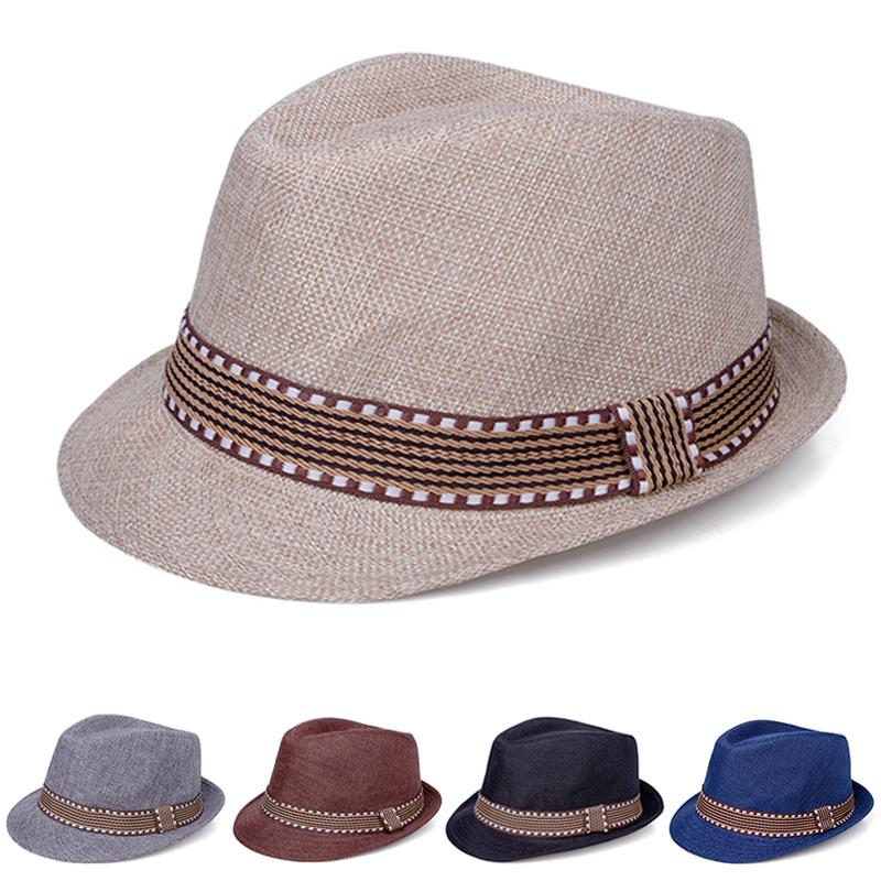 7f457bb64 New Straw Baby Hats Children Cap Bucket Hat Sun Summer Hat For Girls Boys  Panama Hat Photography Props