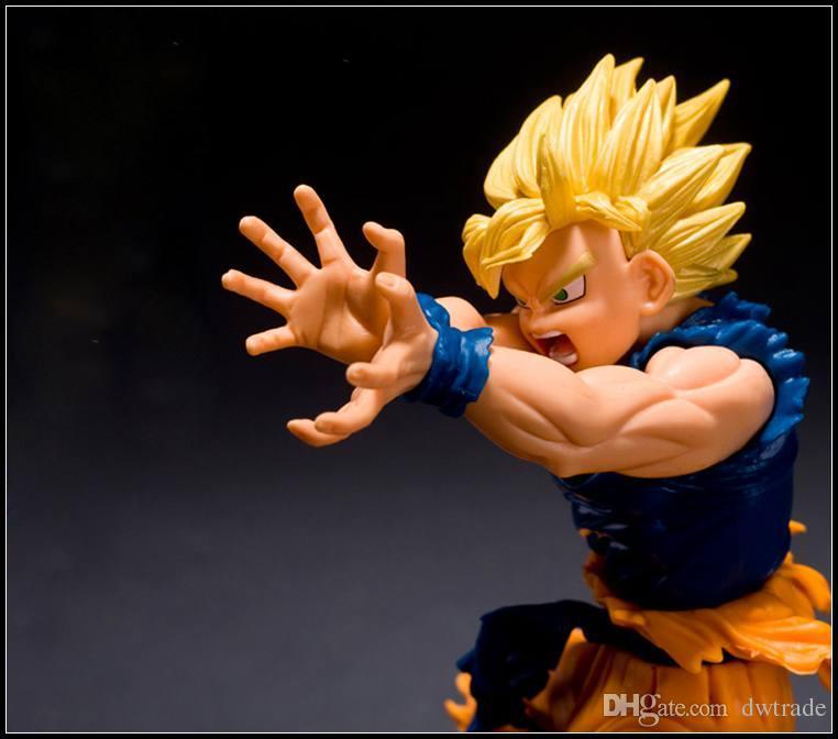 Prettybaby Dragonball 5 17 см сын Гоку KAMEHAMEHA волна фигурки аниме DBZ Kakarotto пластиковые игрушки Pt0219#