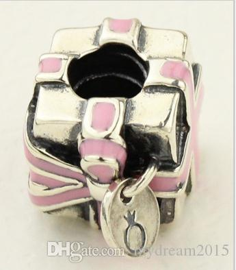 Pandora Charms Canada 925 Silver Pendant Heart box Charms YB105
