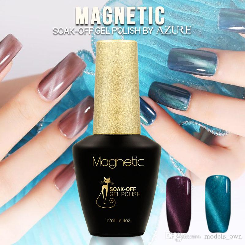 Azure Magnetic 3d Nail Polish Full Set Cat Eyes Gel Polish China ...