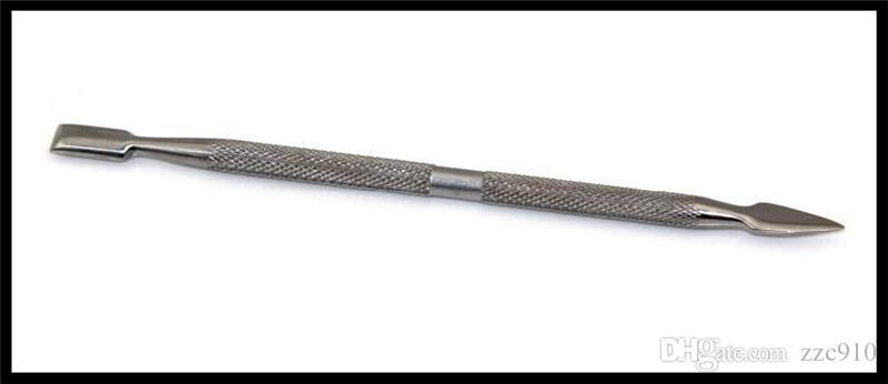 Stainless Steel E Cigarette Dabber Tool Titanium Dab Nail For Wax Dry Herb Glass Ago G5 Vgo Skillet Atmos Micro Atomizer Vaporizer Pen