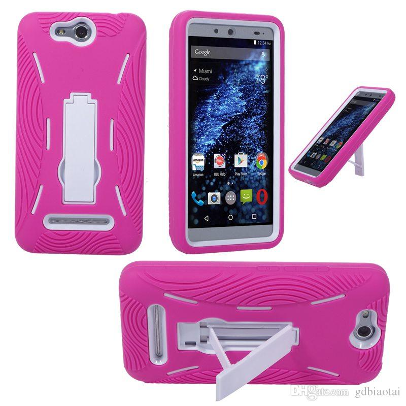 Wholesale CELL PHONE CASE HEAVY DUTY Shockproof Silicone+PC For BLU Energy X/E010Q