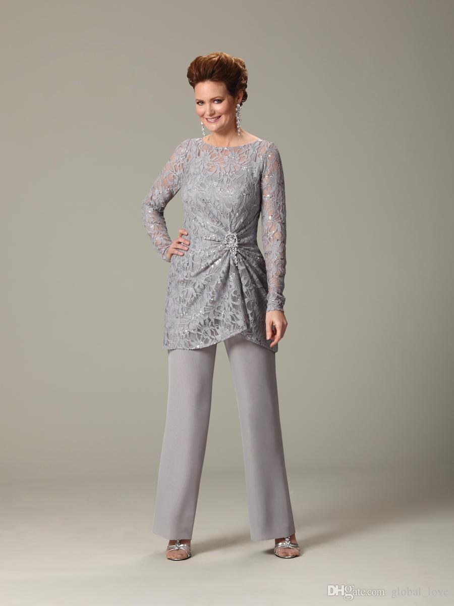 New Arrival Wedding Pants Suits For Mother Bride Custom Made ...