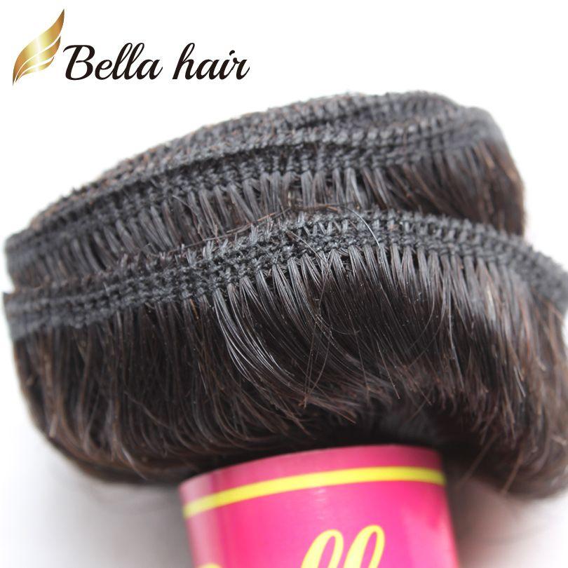 Белла Hair® Бразильский Extensions волос Dyeable Природные перуанский Малайзия Индийский волос девственницы Связки Body Wave Human Плетение волос julienchina