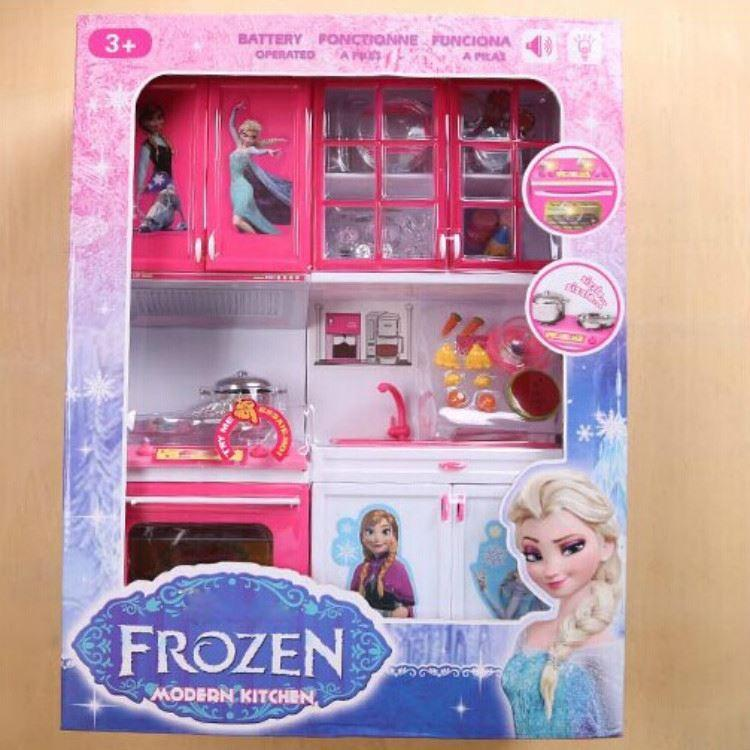 Online cheap 2014 new arrival baby boys girls frozen for Cheap kids kitchen set