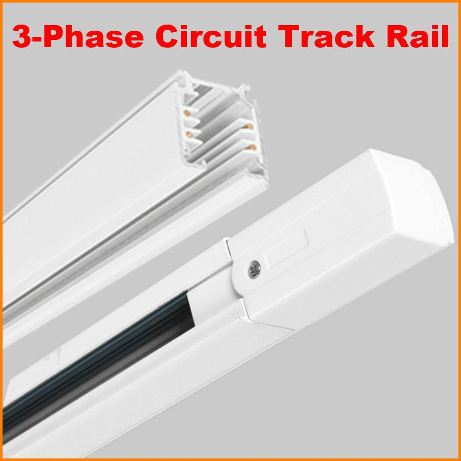 2018 Dhl 1m Lighting Track 3 Phase 3 Circuit 4 Wires Aluminium ...