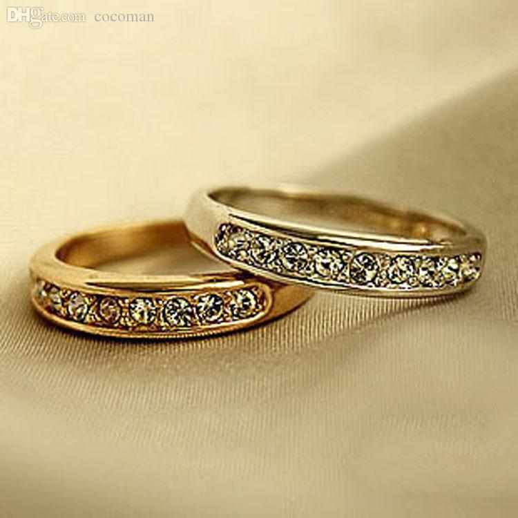 Wholesale Wedding Rings For Men And Women Surgical Steel Belly