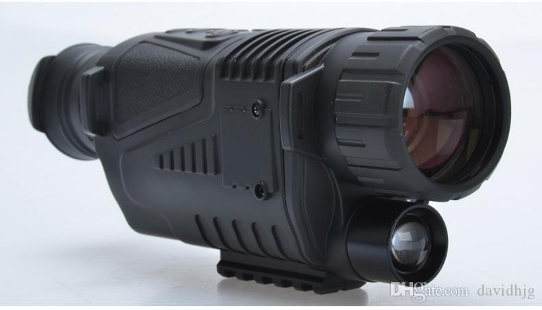 Infrared digital Night vision monocular scope 5x40 for 200Meter,zoom 5X , IR, 5MP digital camera video in CCD!! DHL free!