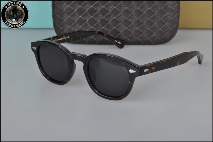 1dc0ff55c5 Moscot LEMTOSH Fashion Man Black Polarized Sunglasses Brand Women Cool  Driving Eyewear Popular Female Retro Beach Glasses Hot Sale Sunglass  Fastrack ...