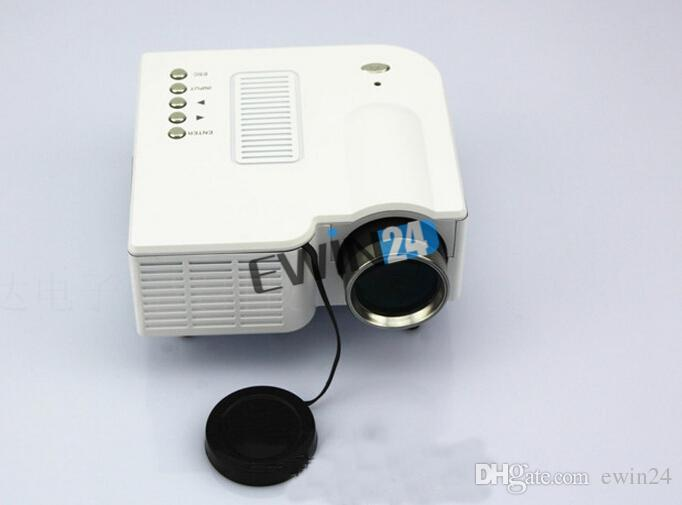 NUEVO Mini 1080P HD Multimedia Proyector LED Home Cinema Theater AV TV VGA HDMI USB SD