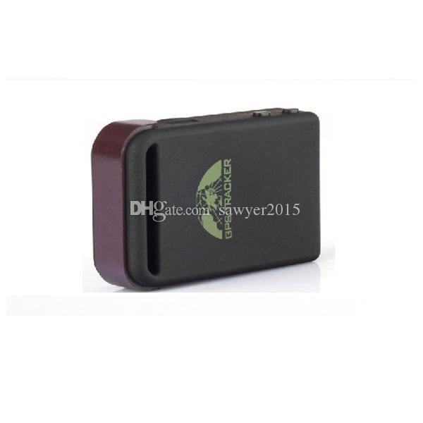 TK102B Realtime Car mini GPS Tracker GSM/GPRS/GPS Navigation Vehicle Tracker Quad Band Vehicle Tracking Device With Memory Slot