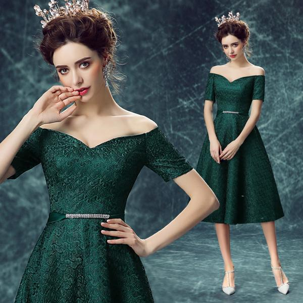 Cocktail dress green tea – Style dresses Europe