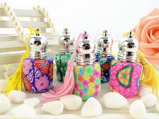 Rollo de la bola del rodillo 4ML en bola aceite de esencia recargable de cerámica Perfume botella vacía + gotero de la pipeta libre POR DHL / Fedex Free PB91