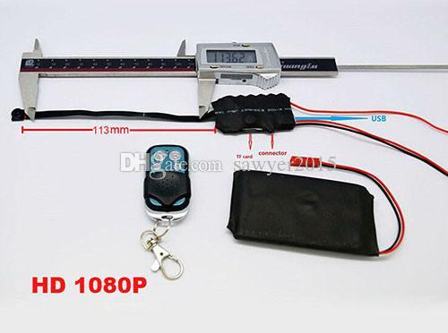 Remoto contrôle DIY module Caméra FULL HD 1080 P Module Conseil sténopé DVR Accueil Caméra de sécurité CCTV Caméscopes S01