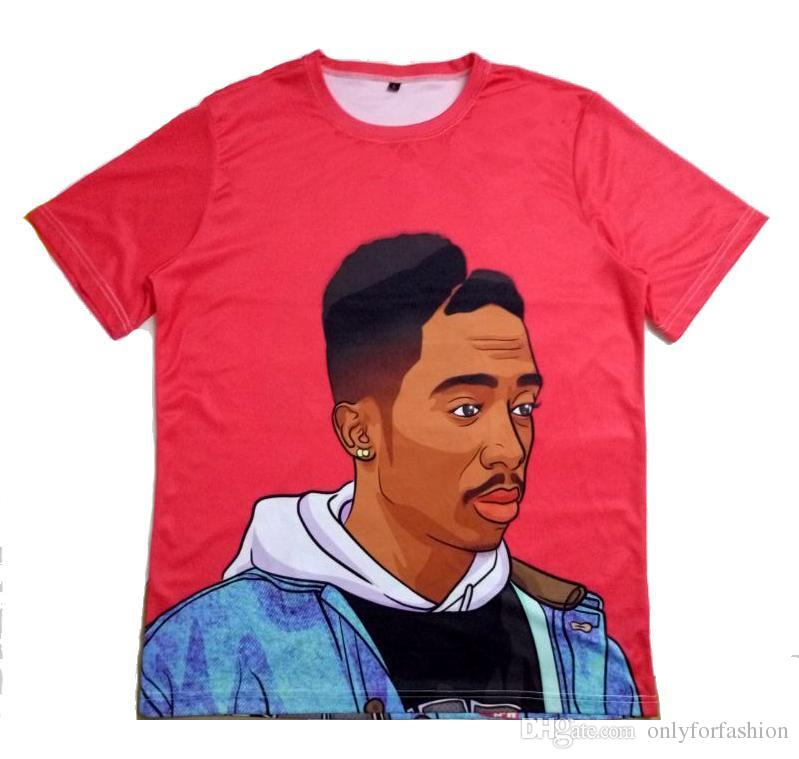 1df0d0d06 Real USA Size,Tupac Thug Life 3D T Shirt OEM 3D Sublimation Plus Size Plus  Size 4XL 5XL 6XL Clever Funny T Shirts Funny Tshirts From Onlyforfashion,  ...
