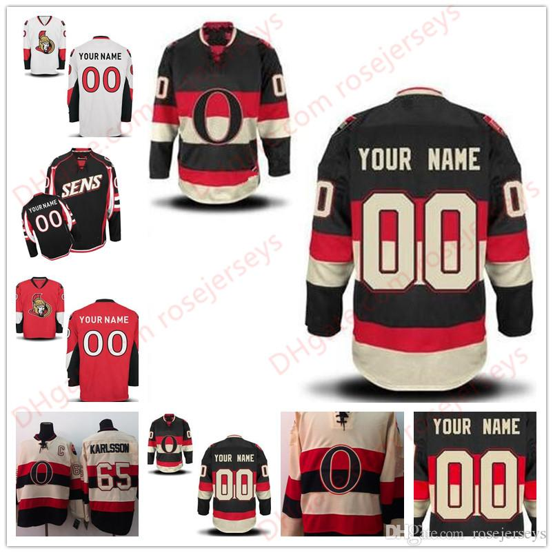 Stitched Custom Ottawa Senators Mens Womens Youth Kids OLD BRAND ... 131689e50