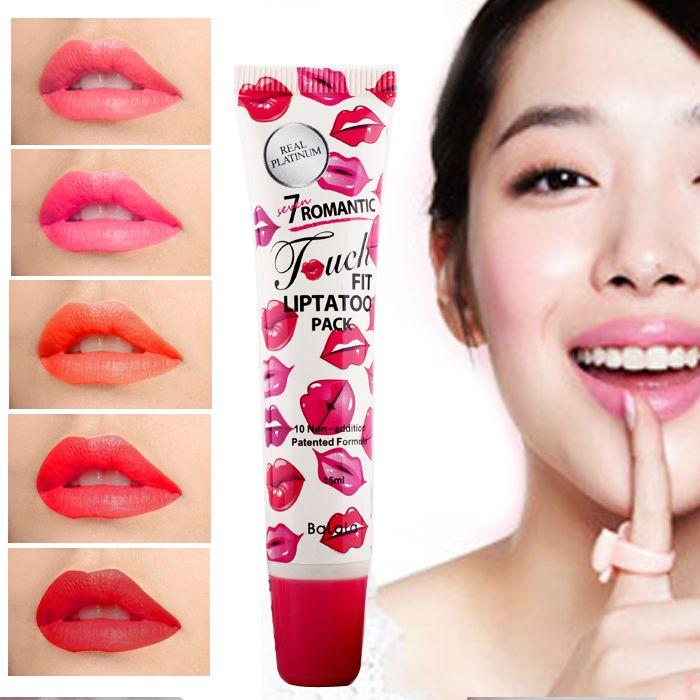 Authentic Korean Fun Tearing Type Lip Stain Does Not Wear Orange Lipstick Liquid Rose Does Not Fade Cosmetics Shop Cosmetics Store From B121144507, ...