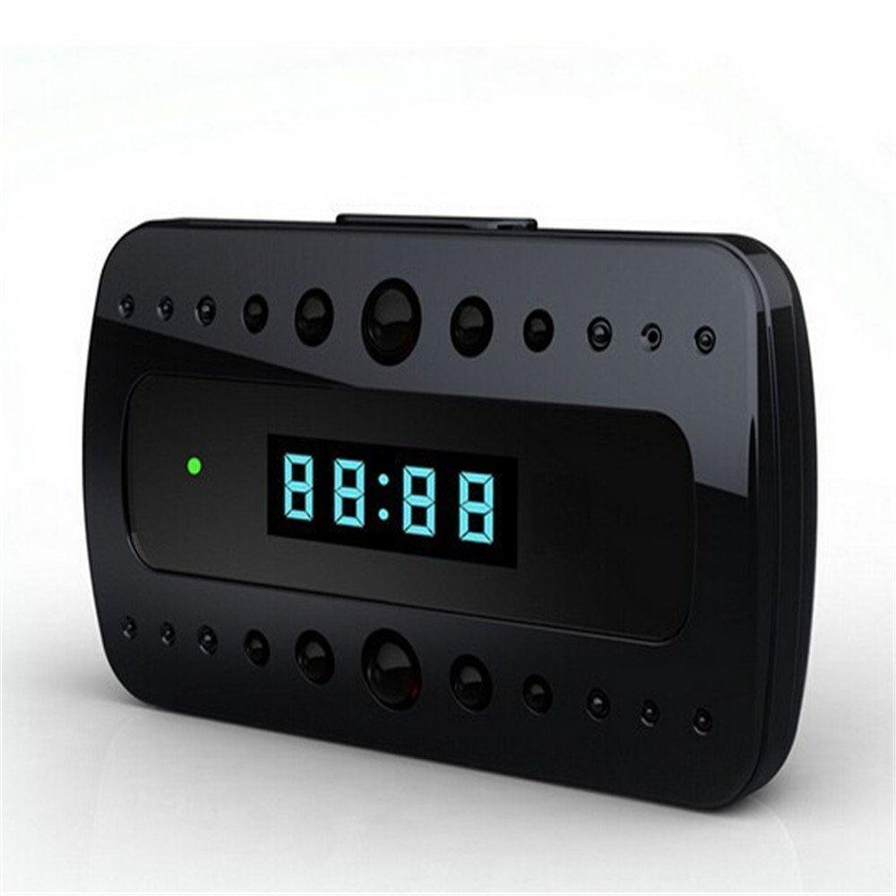 Wireless WiFi P2P Table Clock Mini DV Video Camera Video Recorder DVR With H.264 Night Vision Motion Detection