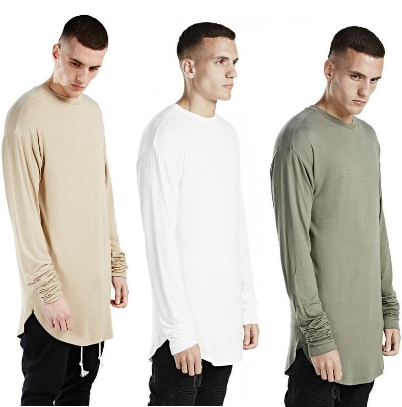 Wholesalemens T Shirts Fashion 2016 Men T Shirt Long Sleeve Mens ...