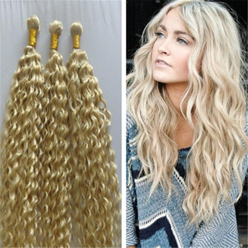 Cheap 2015 new fashion blonde brazilian hair weaves deep curl see larger image pmusecretfo Gallery