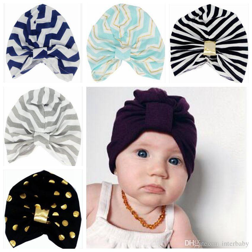 9a3ef6b06c7 2019 Baby Caps Muslim Hats Newborn India S Skull Caps Toddler Fashion  Knotted Hats Rabbit Ear Soft Cotton Winter Bohemia Beanie Accessories B3530  From ...