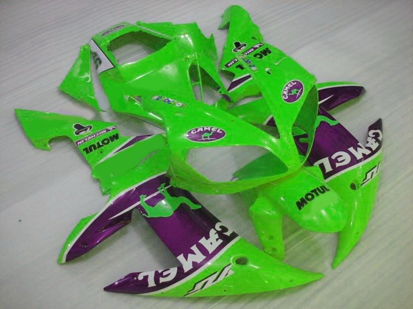 Kit de moldagem por injeção de camelo personalizado para YAMAHA 2002 2003 R1 carenagem kits YZF1000 02 03 yzf r1 carenagens de peças de plástico 7 presentes 0Y9C