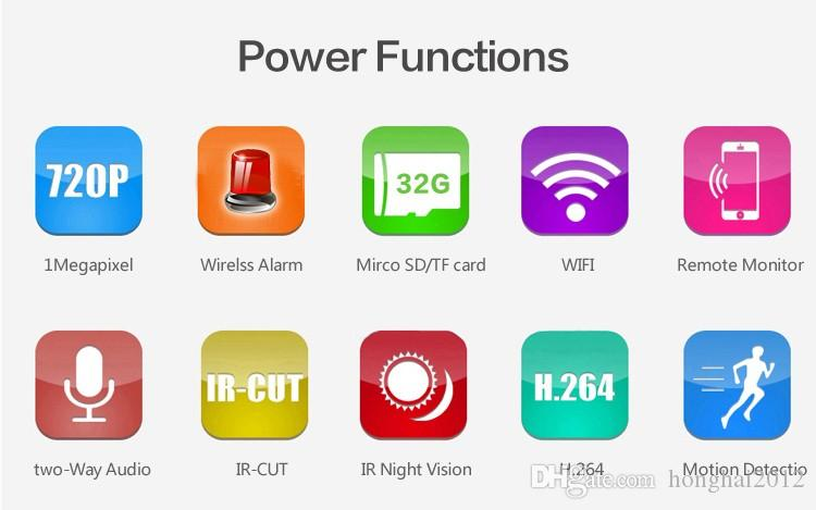 High Quality Factory Price HD Night Vision Outdoor WiFi IP Camera Remote Control CCTV Camera Home Security