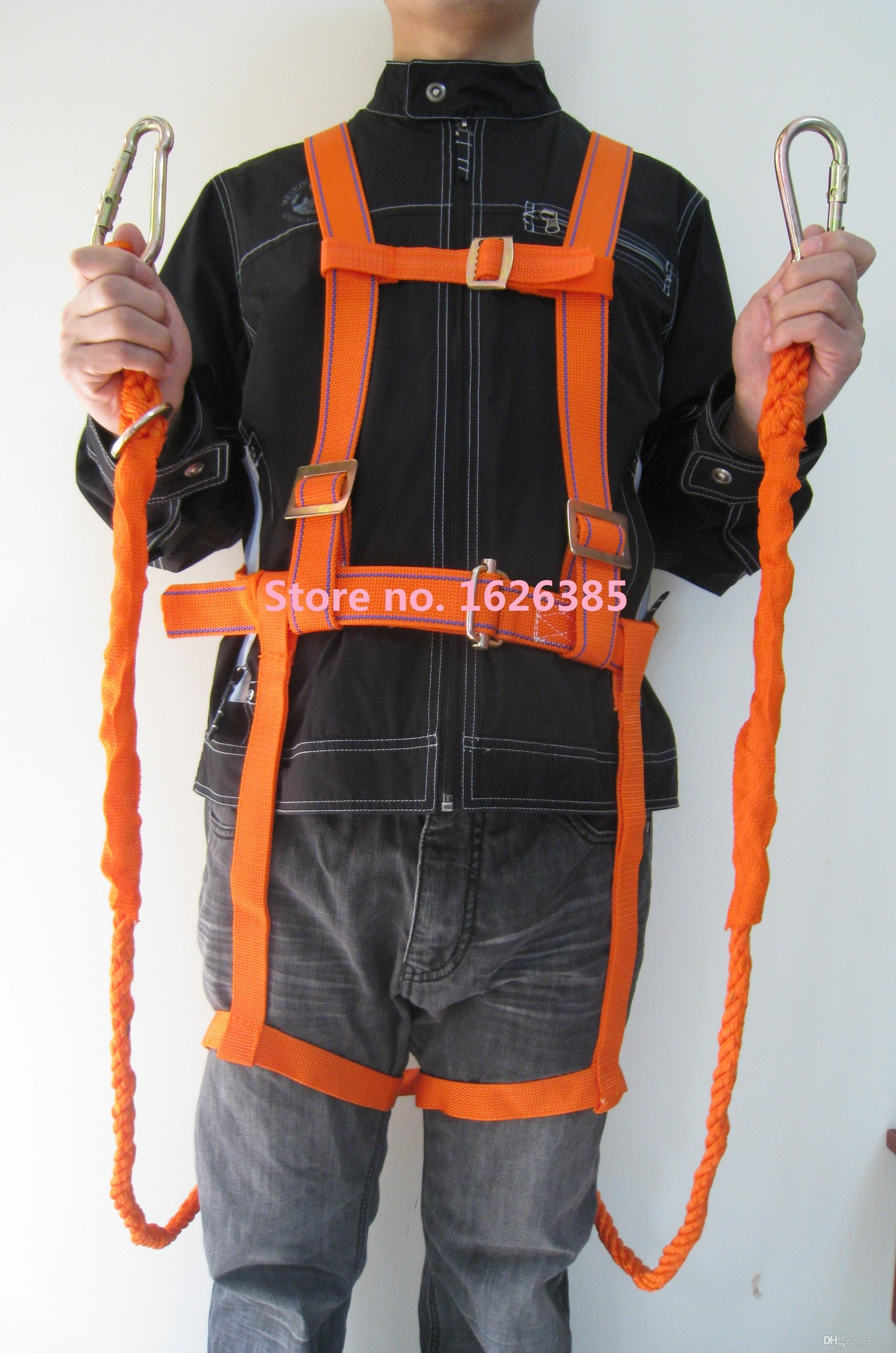 Safety Harness Ht S520 Climbing Harness 2m Double Ropes