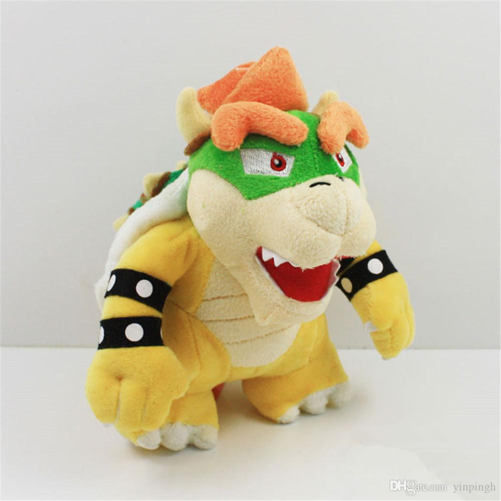 "Fast shipping 7.8INCH SuperMario Games Anime dolls plush toys plush toy 7.8"" 20cm BOWSER Plush Doll Figure Toy"