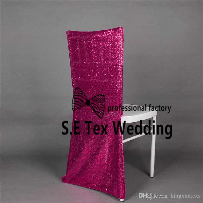 Wholesale Price Sequin Chiavari Chair Cover Hood \ Chair Jacket For Wedding And Event Decoration