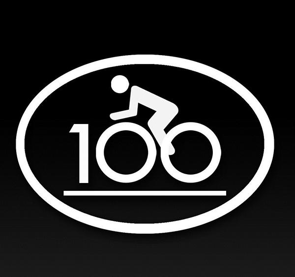 Wholesale Cycling Century Cycling Bike Riding Sticker For Car - Cycling custom vinyl decals for car
