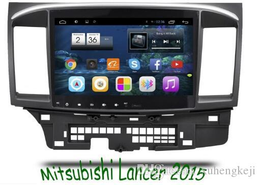 10.2 inch Android 6.0 Car Dvd Gps Navi Audio for MITSUBISHI LANCER HD1024*600 OBD 1GB DR 16GB WIFI QUAD CORE