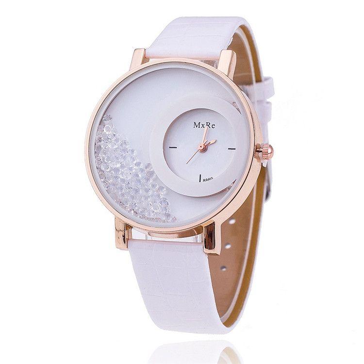 2015 New Fashion Sandglass Watch Leather watches Women Quartz Watch Womens Watch