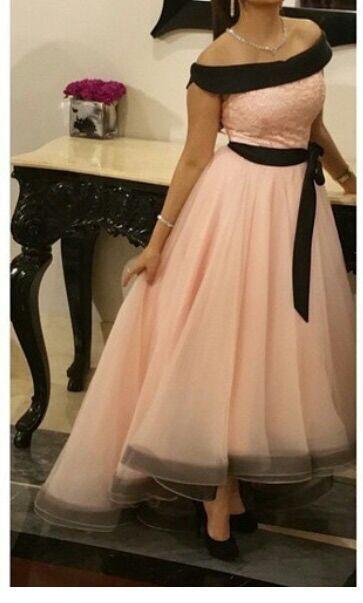Розовый органза высокий низкий Пром платья 2015 элегантный Abendkleider Сексуальная с плеча арабский вечернее платье длинные Дубай женщины формальные платья партии
