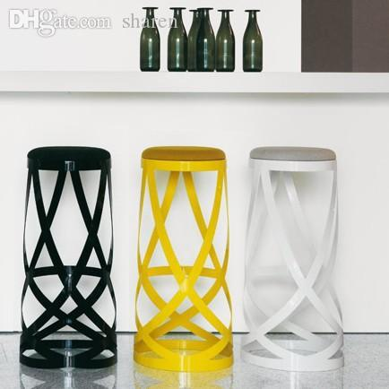 Wholesale Best Popular Designer Furniture Ribbon Stool Metal