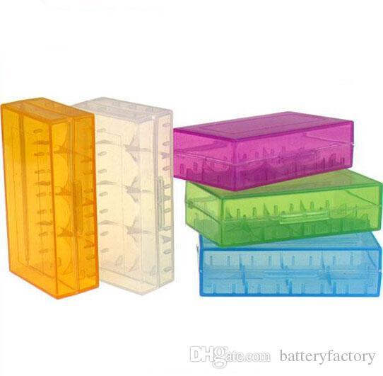 18650 배터리 박스 저장 케이스 플라스틱 배터리 저장 용기 팩 2 * 18650,4 * 18350 또는 4 * 16340 ECIG 기계식 MOD 배터리 용